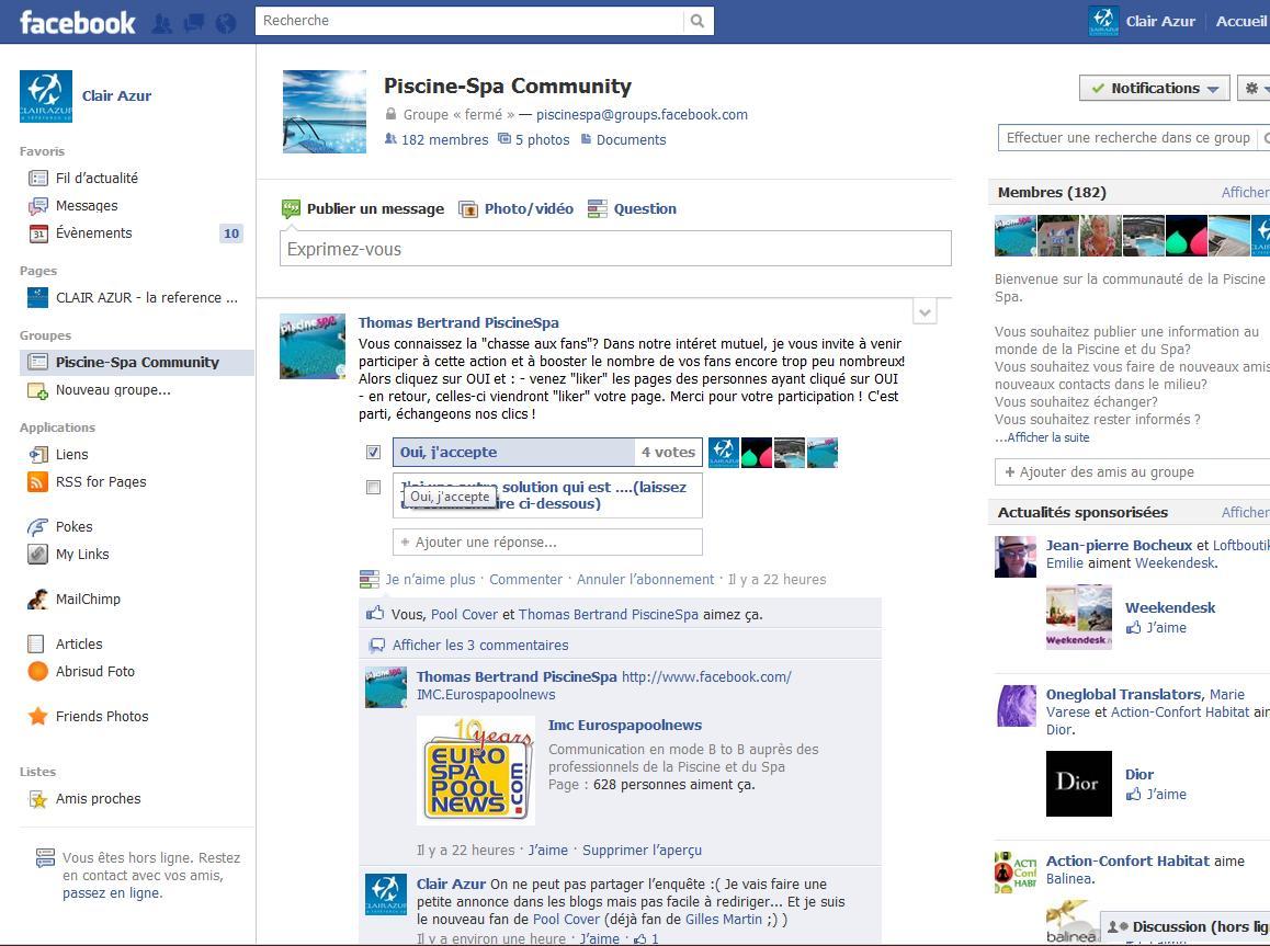 Aspirationn'elle - Expert social media - à quoi ressemble un groupe Facebook