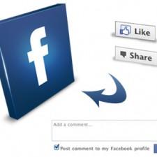 Aspirationn'elle - Consultant Medias Sociaux - Fonctions Like / aimer et share / partager sur Facebook