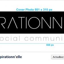 Aspirationn'elle - Community Manager Freelance Autoentrepreneur Lille - Cover et profil Facebook tailles et dimensions
