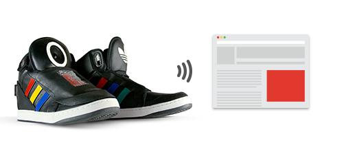 Aspirationn'elle - Community Manager Lille Freelance - Chaussures Connectées Adidas Google