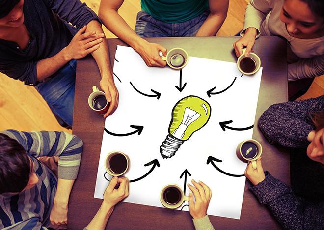 S'ouvrir aux autres pour faire un brainstorming Aspirationn'elle