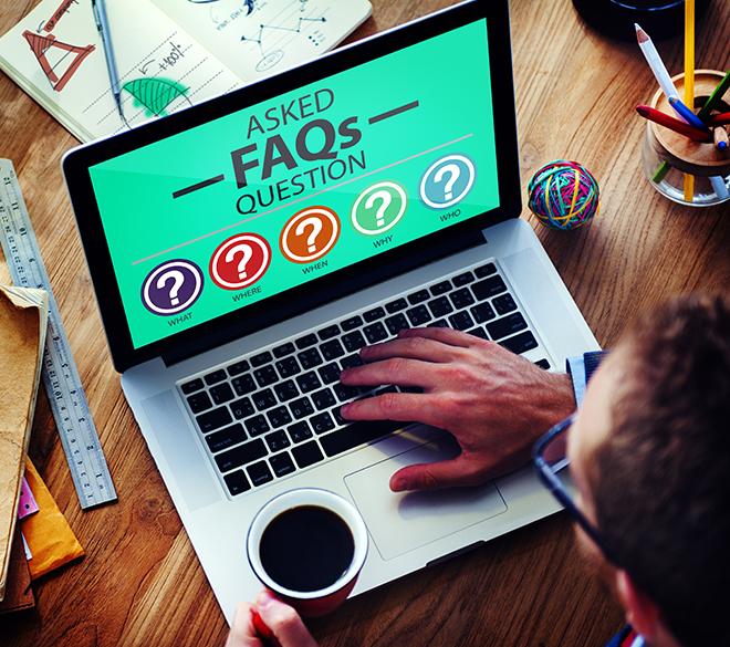 Utiliser la FAQ écrire sur le web Aspirationn'elle